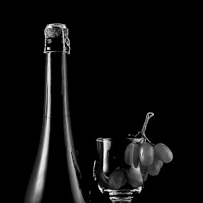 Open  by Nabeel Madarati - Black & White Objects & Still Life
