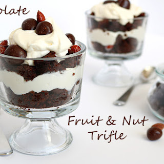 Chocolate Fruit and Nut Trifle