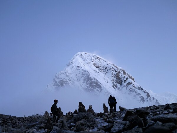 Базовый лагерь на Эвересте. Автор: Michael Clarke