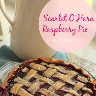 Scarlett O'Hara Raspberry Pie.