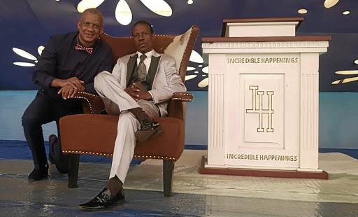Bishop Keith Harrington and Incredible Happenings leader prophet Paseka 'Mboro' Motsoeneng.
