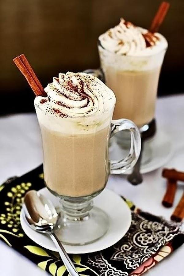 Pumpkin Spice White Hot Chocolate Recipe