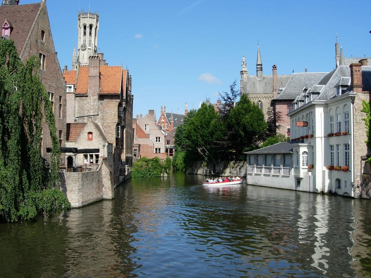 Quai Rosaire à Bruges