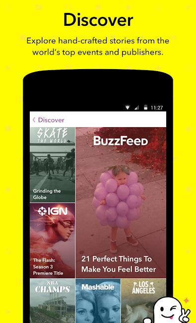 #4. Snapchat (Android)