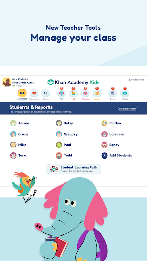 Khan Academy Kids: Free educational games & books screenshot 8