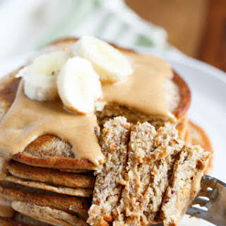 Paleo Cashew Butter Pancakes for Two (Gluten-Free)
