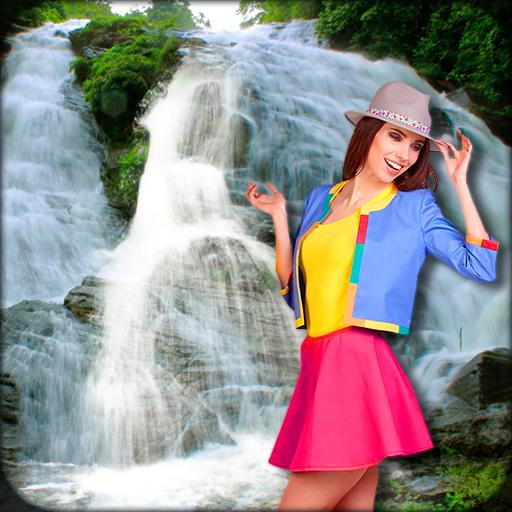 Waterfall Photo Frames - Photo Editor