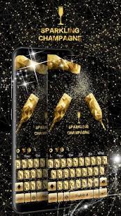 Golden Champagne Keyboard - náhled