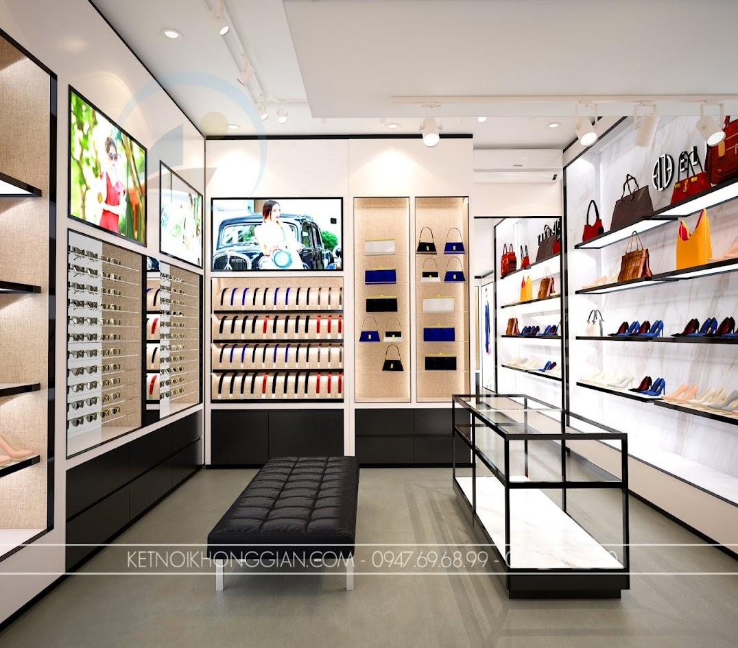 thiết kế shop túi xách trung hòa 11