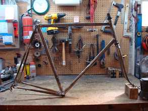 Photo: The finished frame and fork