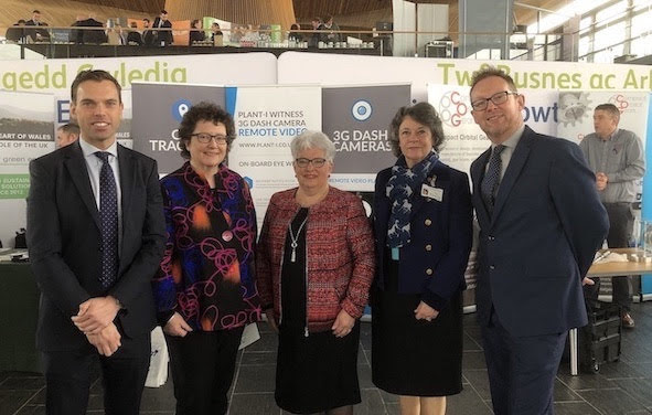 Trade delegation showcases Mid Wales
