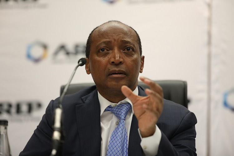 African Rainbow Energy and Power Chairman Patrice Motsepe.