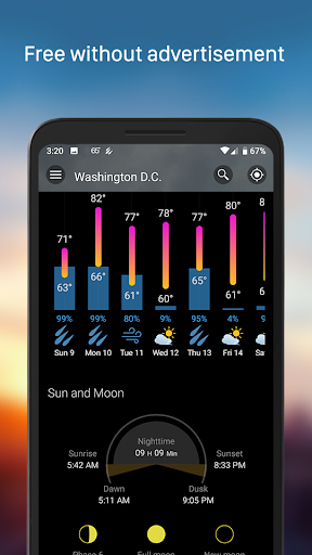 Weather & Widget - Weawow screenshot 3
