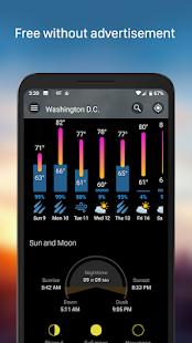 Weather & Widget - Weawow APK image thumbnail 2