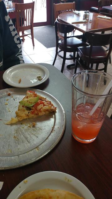 Spicy Chicken Pizza with gluten free crust