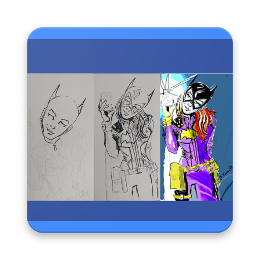 Learn To Draw Super Hero Applications Sur Google Play