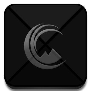 Azer Gray Dark - Icon Pack apk