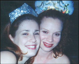 Photo: Jennifer and I ringing in 2000.  We have not aged a day!  ;)