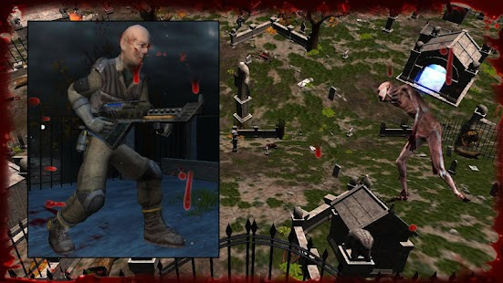 Zombie Army Attack screenshot