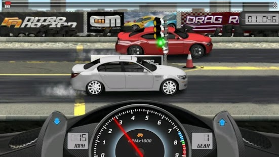 ApkMod1.Com Drag Racing Classic + (Mod Money Unlocked) for Android Game Racing