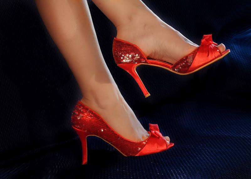Le scarpe rosse di Patrix