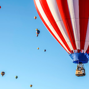 Sky ride by Silvana Schevitz - Transportation Other ( balloon,  )