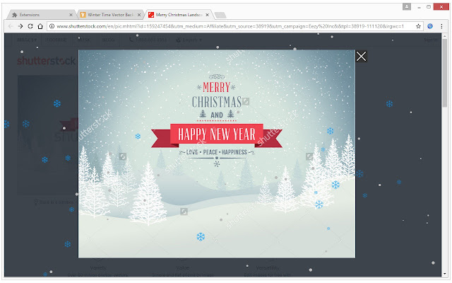 Christmas Winter Snow: Snowflakes Fall Effect - Chrome Web Store