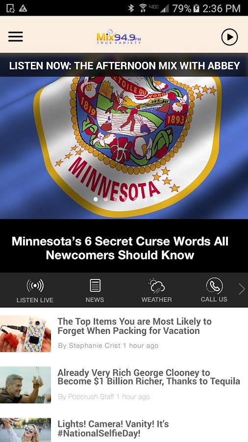 MIX 94.9 - Today's Best Mix - St. Cloud (KMXK)- screenshot