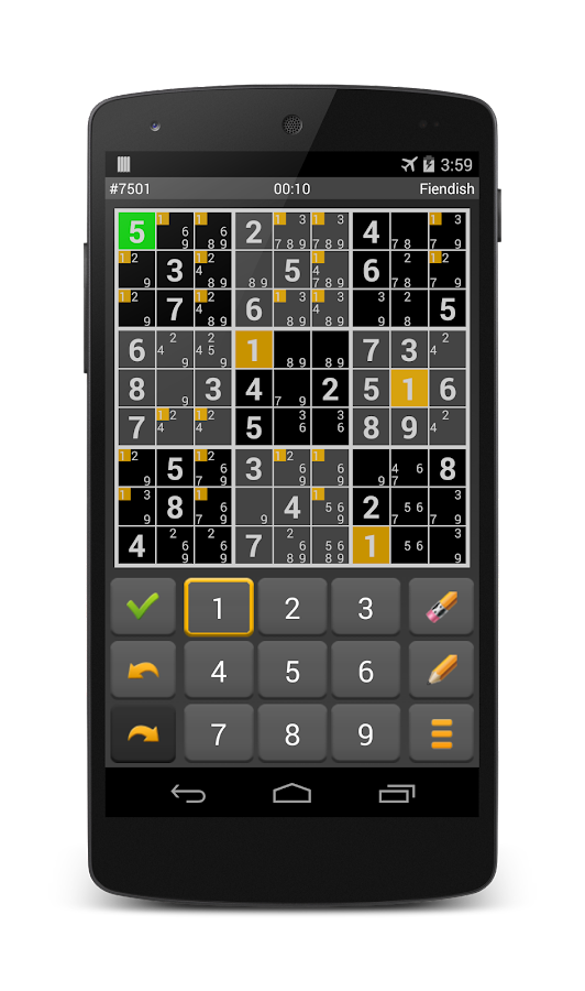 Sudoku 10'000- screenshot