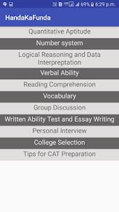 CAT MBA Exam Prep by Handa Ka Funda - náhled