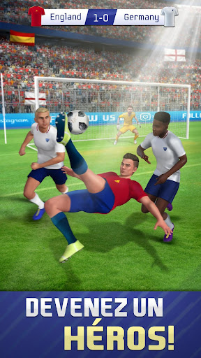 Télécharger Soccer Star Goal Hero: Score and win the match APK MOD (Astuce) screenshots 1