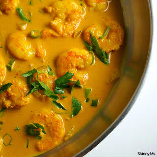 One-Pot Curry Shrimp.
