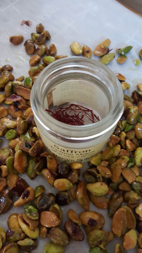 Saffron Pistachios Recipe