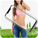 Audrey body scanner cloth free camera prank 2020 icon