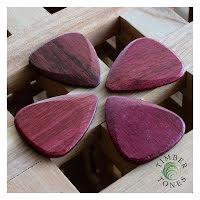 Timber Tones MK11 Purpleheart Pack of Four
