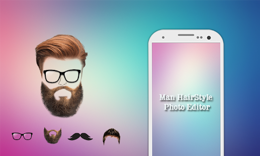 Man Beard photo Editor Mustache :Hairstyle Changer - náhled
