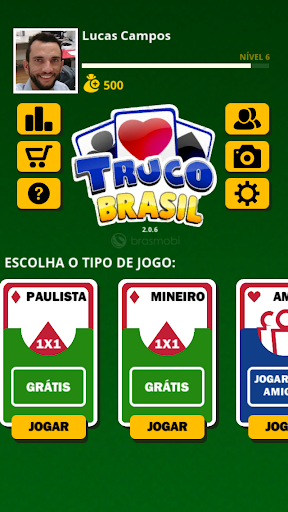 Truco Brasil - Truco online  gameplay | by HackJr.Pw 3