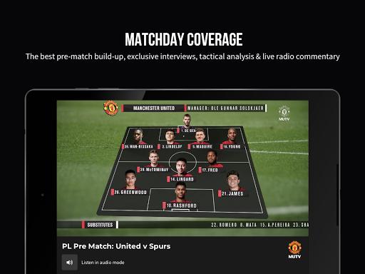 MUTV u2013 Manchester United TV 2.9.0 screenshots 9