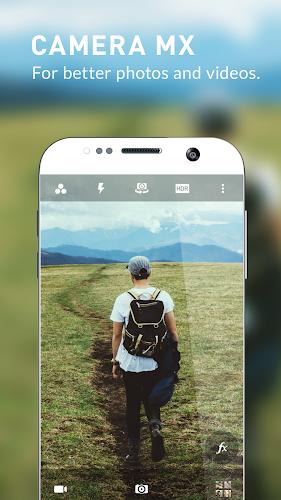 Camera MX - Free Photo & Video Camera Android App Screenshot