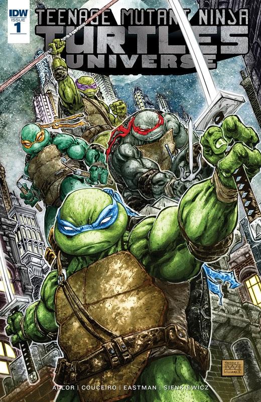 Teenage Mutant Ninja Turtles Universe (2016) - complete