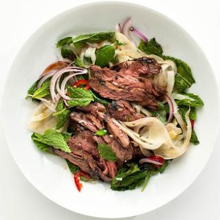 Skirt Steak with Pickled Fennel Salad