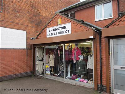 Chainstore Labels Direct on Nottingham Road - Fashion Shops