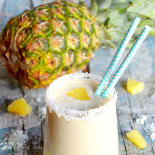 Tropical Pineapple Coconut Smoothie