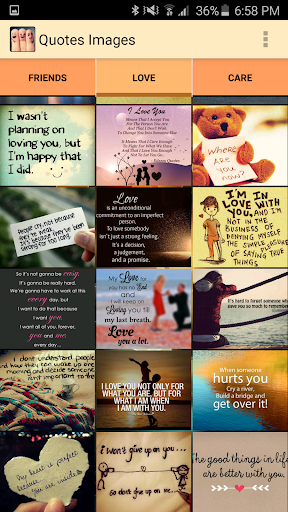 Love and Caring Quotes