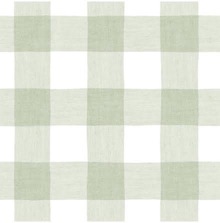 Christiana Masi Hashtag 11025 Tapet med rutigt tygmönster, Grön