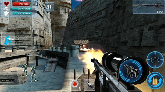 Enemy Strike 2 v1 0 4 Mod (Unlimited Health + Ammo) Apk