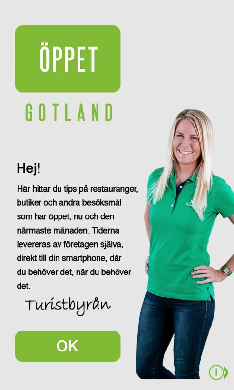 Скриншот Öppet Gotland