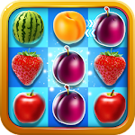 Fruit Crush - Match 3 games Icon