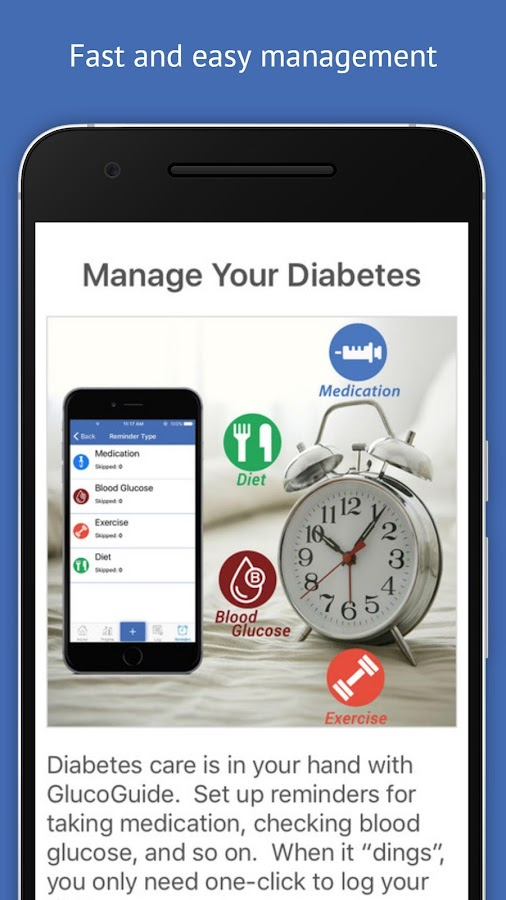 Diabetes Guide - GlucoGuide- screenshot