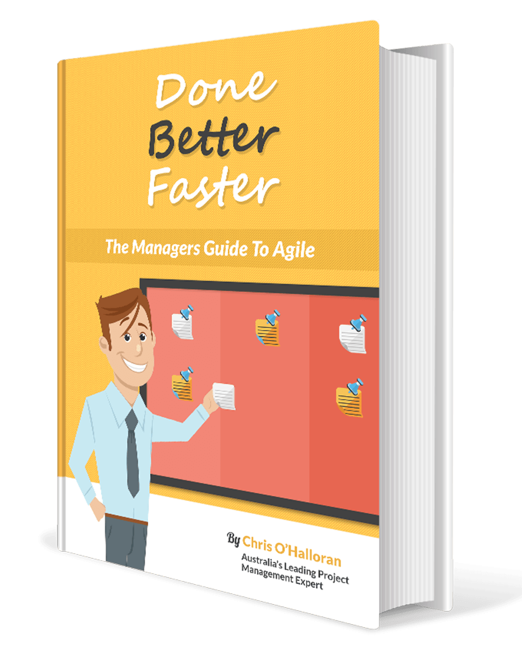 Agile & Scrum Book, Done Better Faster cover image